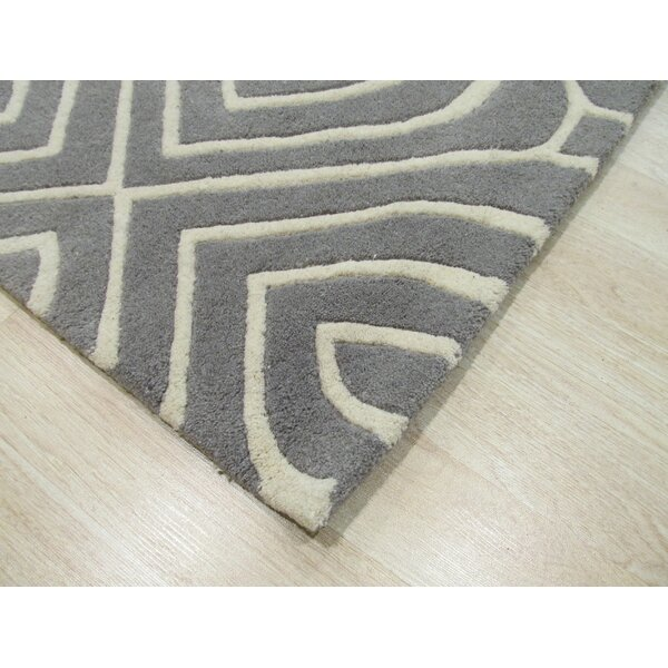 Wainwright Hand Tufted Gray Area Rug by The Conestoga Trading Co.