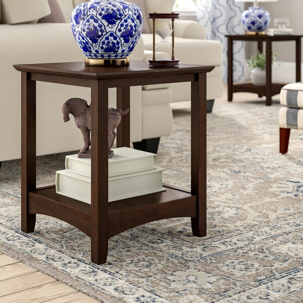 Rossendale End Table (Set of 2) by Three Posts
