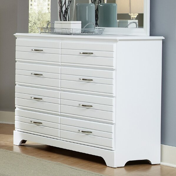 Della 8 Drawer Double Dresser by August Grove