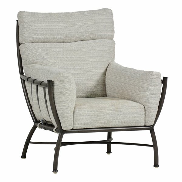 Majorca Patio Chair with Cushion by Summer Classics