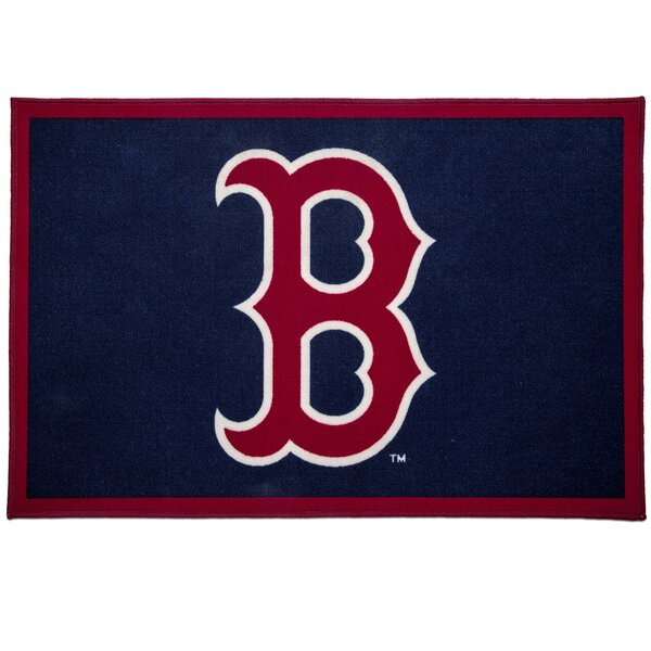 MLB Boston Red Sox Red/Blue Area Rug by Delta Children