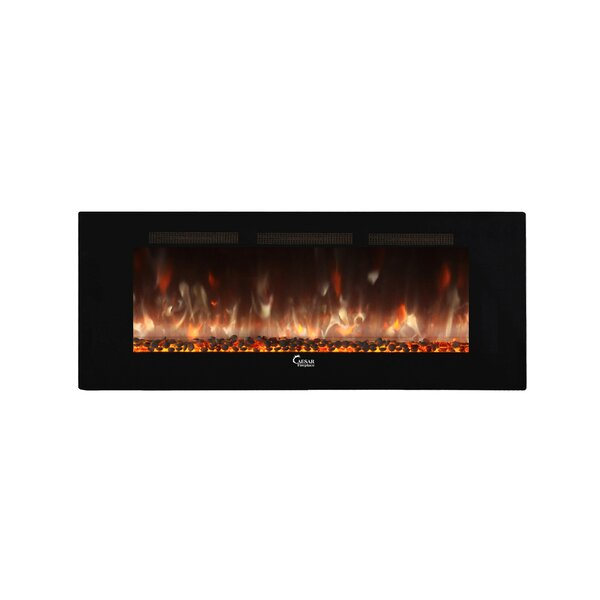 Brentwood Wall Mounted Electric Fireplace by Brayden Studio
