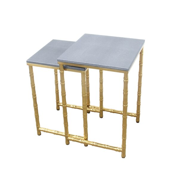 Keturah 2 Piece Nesting Tables by Mercer41 Mercer41