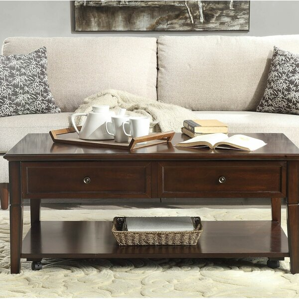Wessels Lift Top Coffee Table With Storage By Darby Home Co