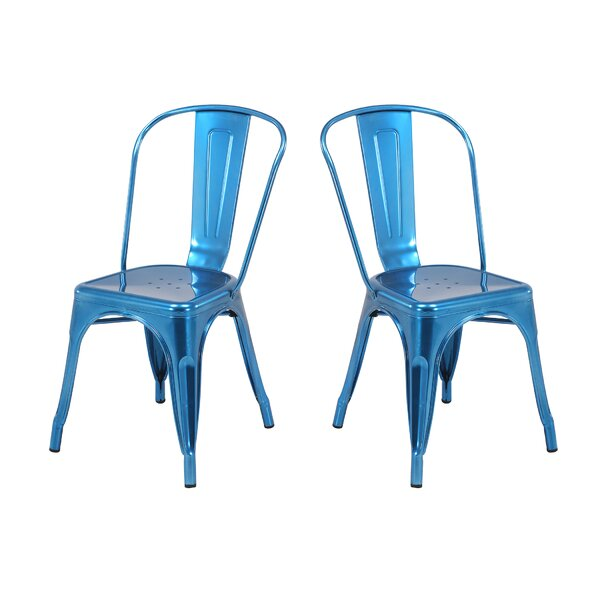 Metal Dining Chair (Set of 2) by Vogue Furniture Direct