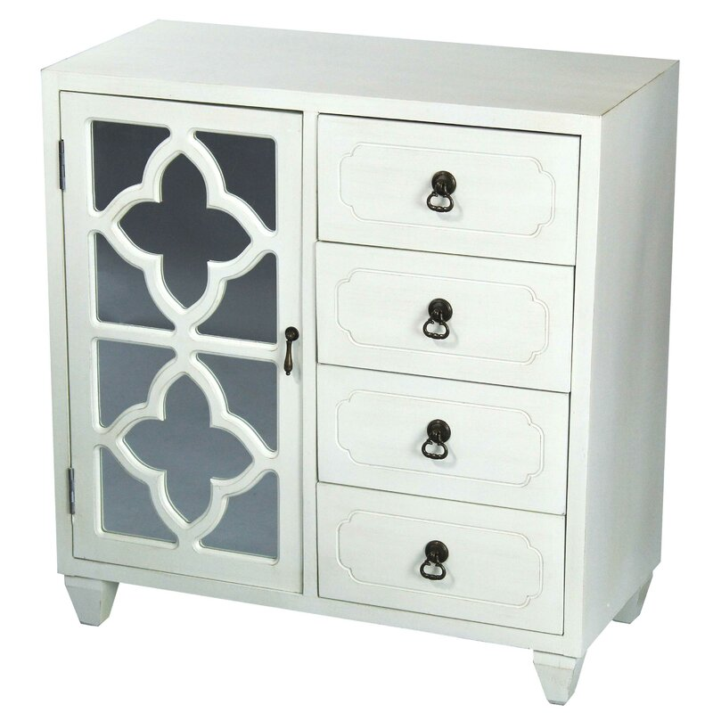 Kirtin 1 Door 4 Drawer Server