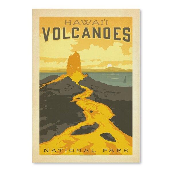 Hawaiian Volcanoes National Park Vintage Advertisement by East Urban Home