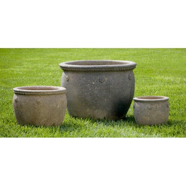 Alyn 3-Piece Terra Cotta Pot Planter Set by Bloomsbury Market
