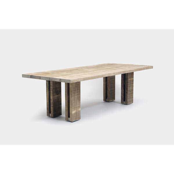 Occidental Solid Wood Dining Table by ARTLESS