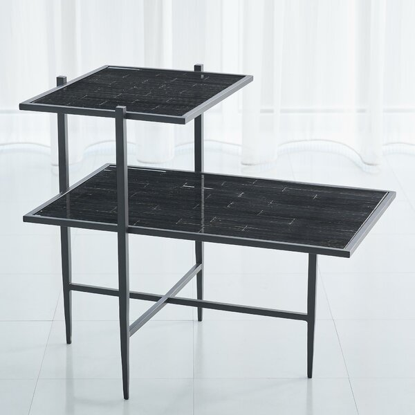 Bel Air Tiered End Table by Global Views Global Views