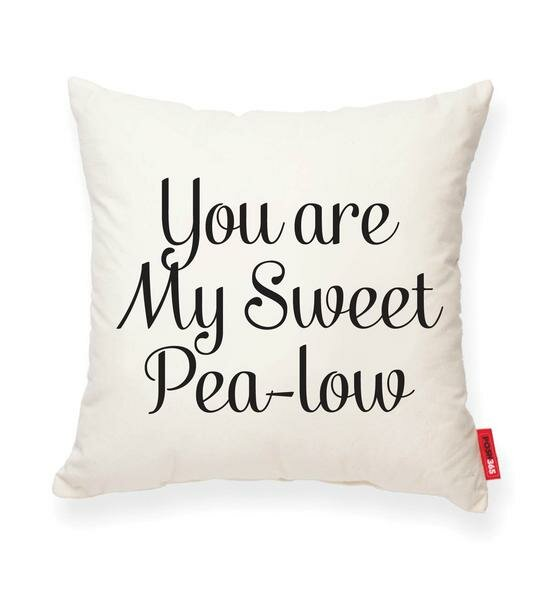 Domaine You are My Sweet Pea-low Throw Pillow by Gracie Oaks