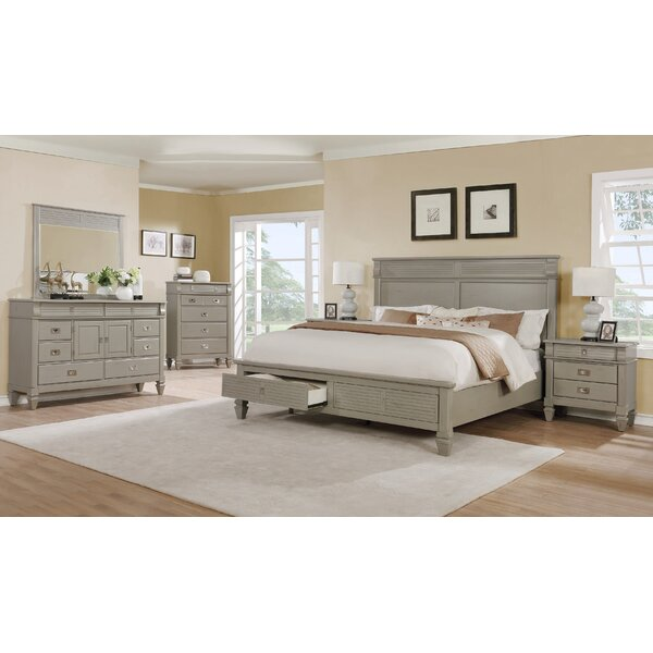 Vasilikos Platform Configurable Bedroom Set by Beachcrest Home