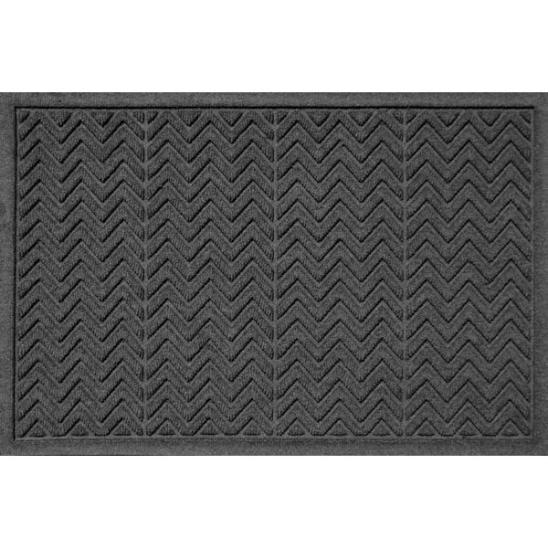 Harding Chevron Doormat by Latitude Run