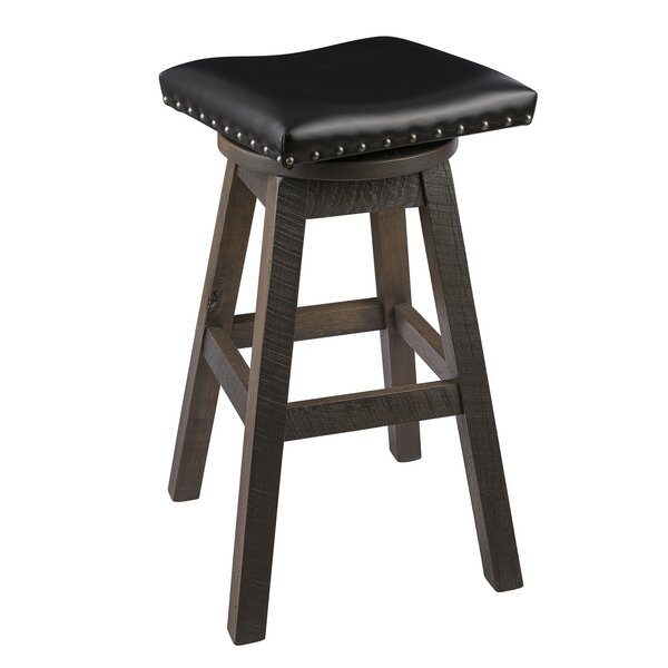 Canby Swivel Bar & Counter Stool By Loon Peak