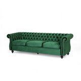 "Snyder Chesterfield 84.5"" Rolled Arm Sofa"