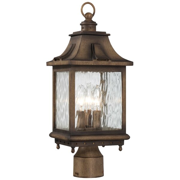 Danville Outdoor 3-Light Lantern Head by Darby Home Co