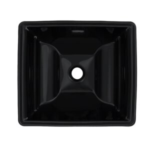 Check Prices Aimes Ceramic Rectangular Undermount Bathroom Sink with Overflow By Toto