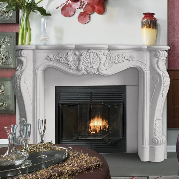 Designer Louis Fireplace Surround by Historic Mantels Limited