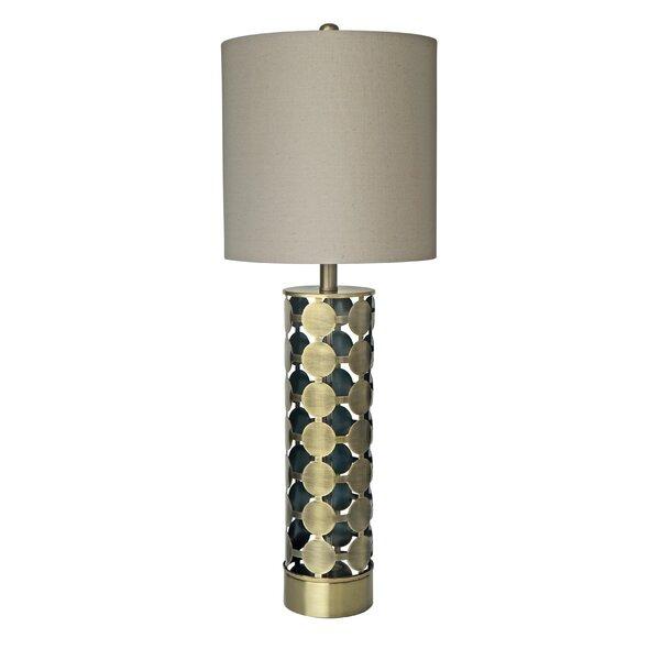 Padillo Metal 18 Beside Lamp by Bungalow Rose
