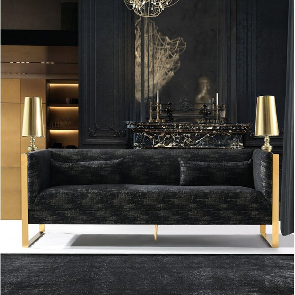 Weekend Choice Schuster Sculptural Sofa by Everly Quinn by Everly Quinn