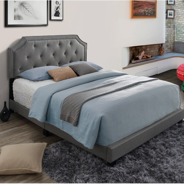 Hornyak Queen Upholstered Standard Bed by Alcott Hill