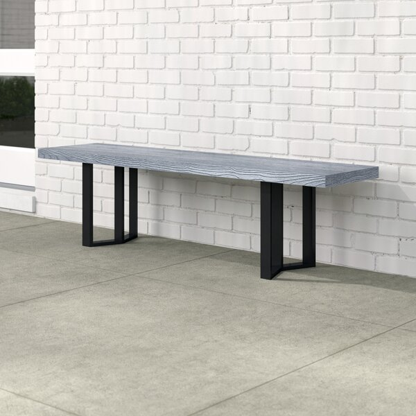 Linch Outdoor Picnic Bench by Mercury Row