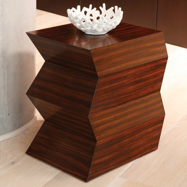 Zig Zag End Table by Global Views