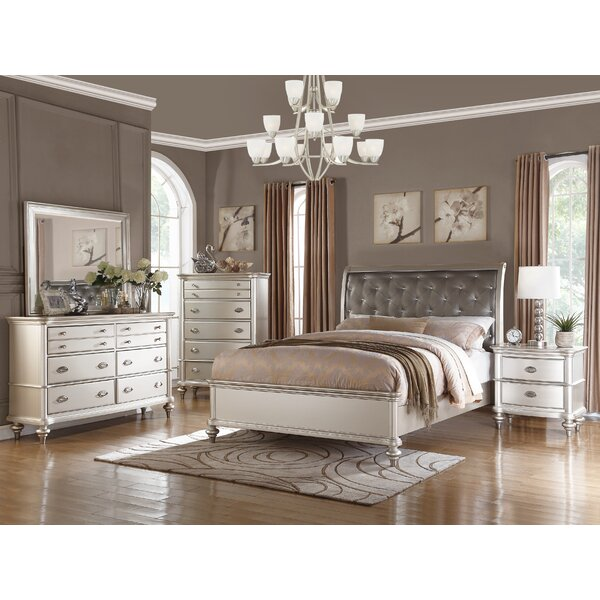 Akiva Upholstered Standard Bed by House of Hampton
