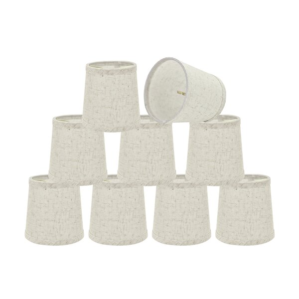 Transitional 5 Fabric Empire Lamp Shade (Set of 9) by 17 Stories