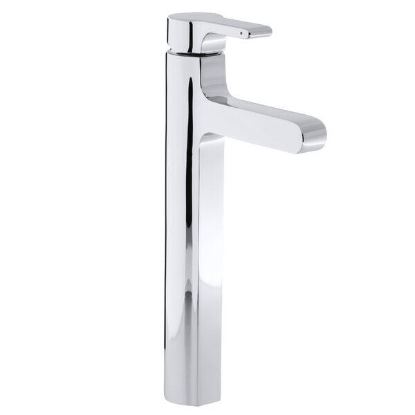 Singulier Tall Single-Hole Bathroom Sink Faucet by Kohler