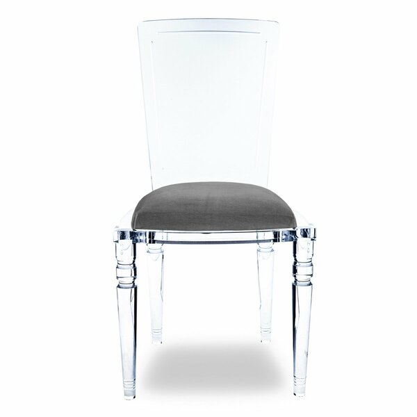 Best #1 Juliette Armless Upholstered Dining Chair By ModShop Wonderful