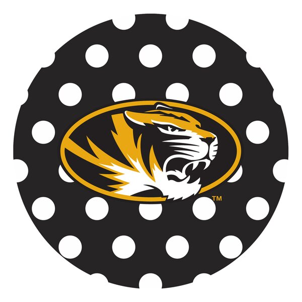 University of Missouri Dots Collegiate Coaster (Set of 4) by Thirstystone