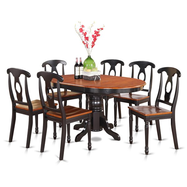 Aimee 7 Piece Dining Set by August Grove August Grove