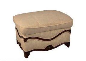 Patio Furniture Leather Ottoman