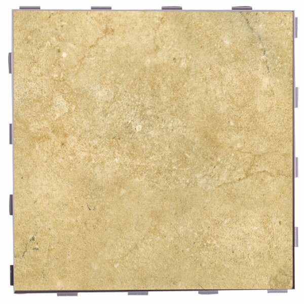 Classic ThinLine 12 x 12 Porcelain Field Tile in Nutmeg by SnapStone