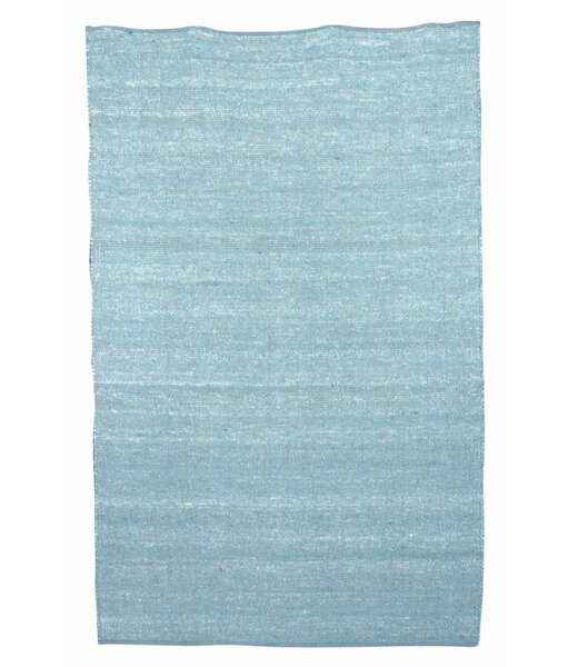 Aronson Hand-Woven Blue Area Rug by Harriet Bee
