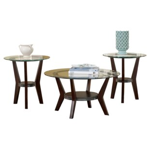 Reviews Curtis 3 Piece Coffee Table Set By Signature Design by Ashley