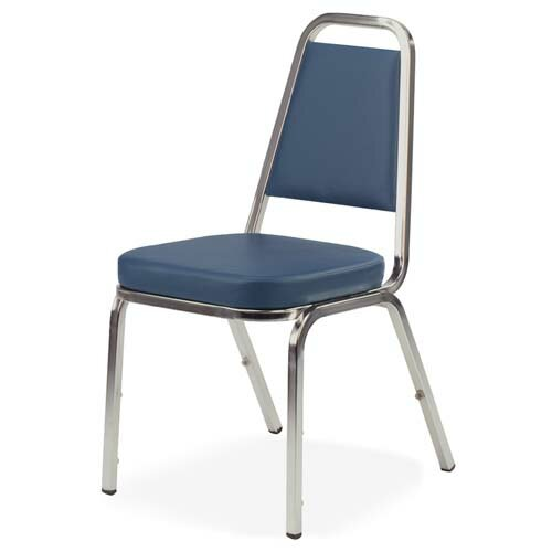 Rectangular Back Banquet Chair by Lorell
