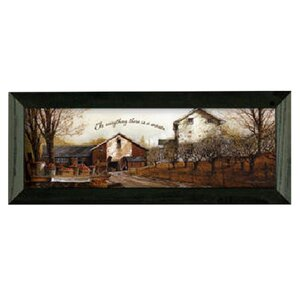 'To EverythIng' Framed Painting Print by August Grove