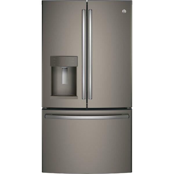 27.8 cu. ft. French Door Refrigerator with Door In Door by GE Appliances