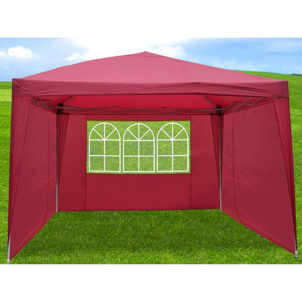 10 Ft. W x 10 Ft. D Steel Pop-Up Canopy by Sunrise Outdoor LTD