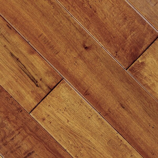 Smokehouse 4-3/4 Solid Maple Hardwood Flooring in Chicago by Albero Valley