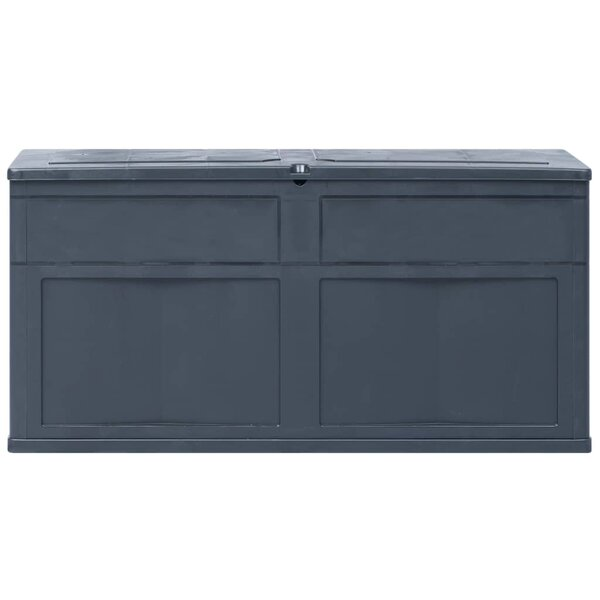 84.54 Gallon Plastic Deck Box by East Urban Home East Urban Home