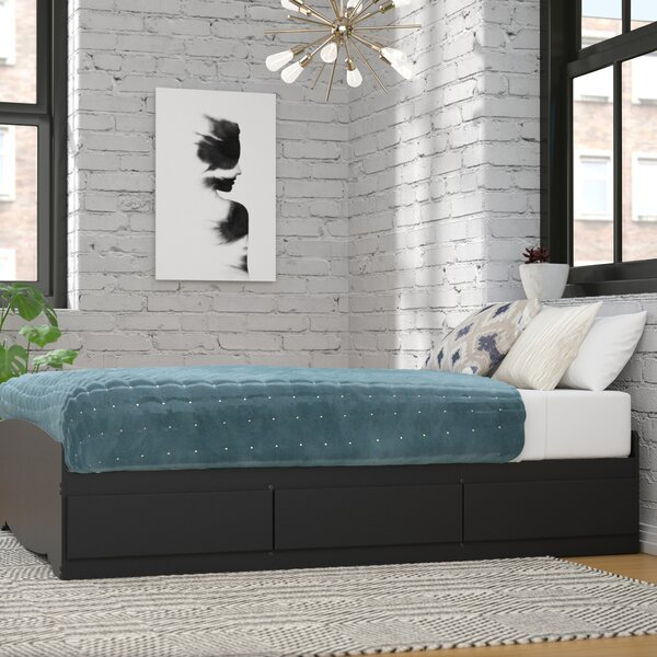 Legrand Storage Platform Bed by Andover Mills