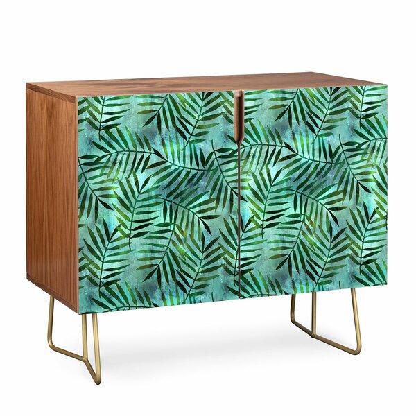 Schatzi Brown Goddess Palm Emerald Sideboard by East Urban Home