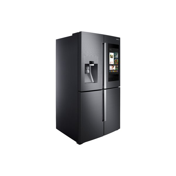 36 French Door 22 cu. ft. Smart Energy Star Counter Depth Refrigerator with Family Hub