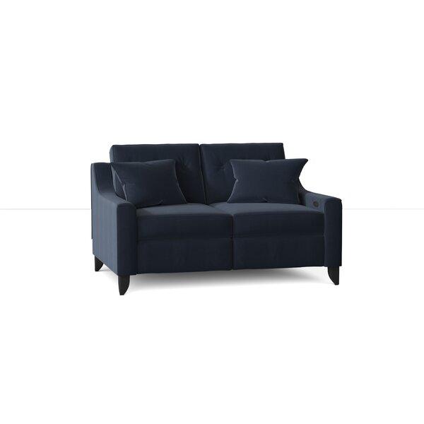 Logan Reclining Loveseat by Wayfair Custom Upholstery? Wayfair Custom Upholstery�?�