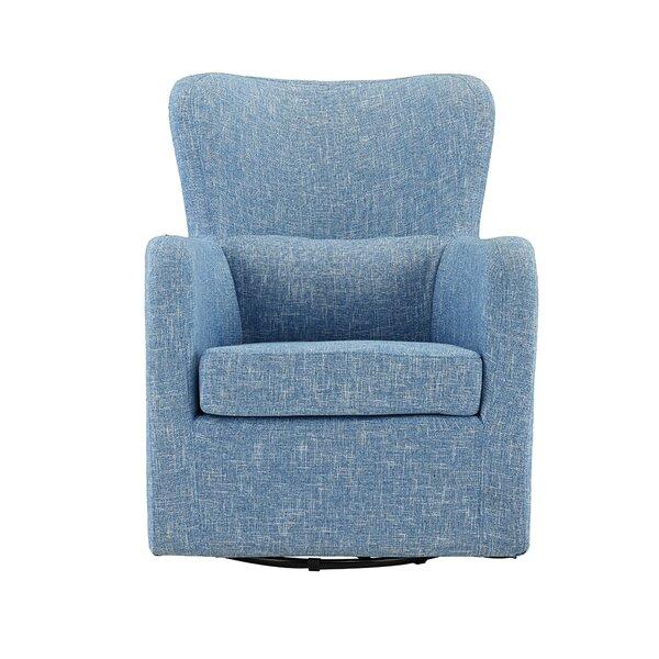 Bibbs Swivel Armchair by Wrought Studio