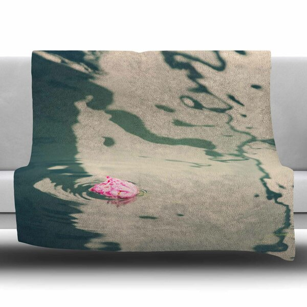 Venetian Rose by Sylvia Coomes Fleece Blanket by East Urban Home
