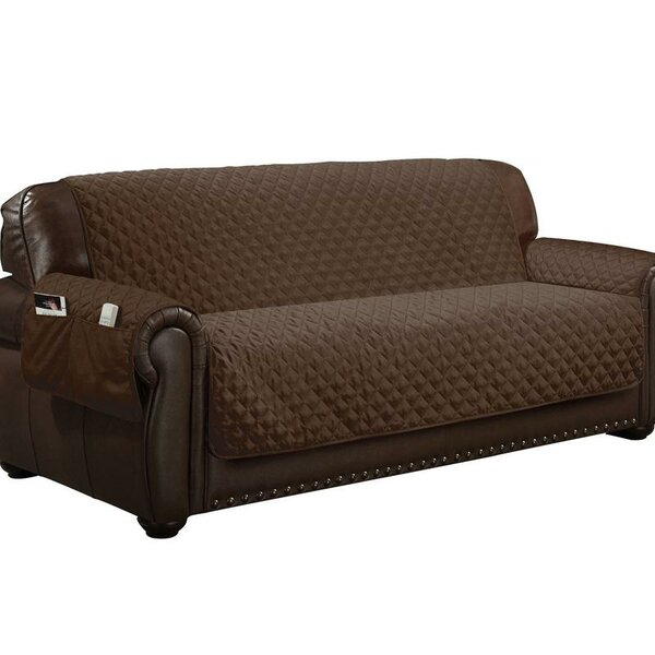 Water Resistant T-Cushion Sofa Slipcover by Symple Stuff